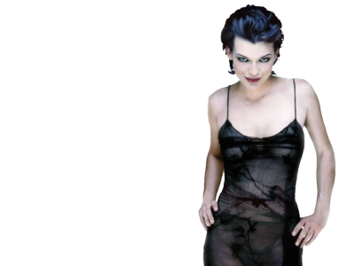Milla Jovovich PNG Free Download