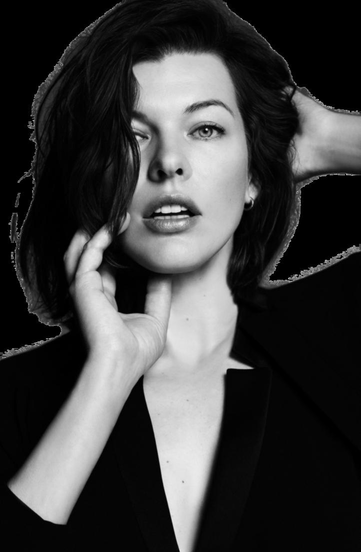 Milla Jovovich PNG Pic