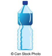Mineral Water Bottle - Vector illustration of mineral water.