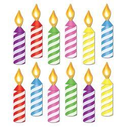Mini Birthday Candle Cutouts-Mini Birthday Candle Cutouts-12