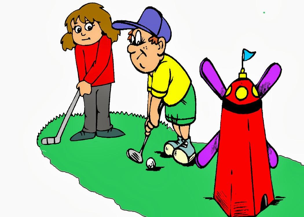 Mini Golf Clip Art #9997-Mini Golf Clip Art #9997-12