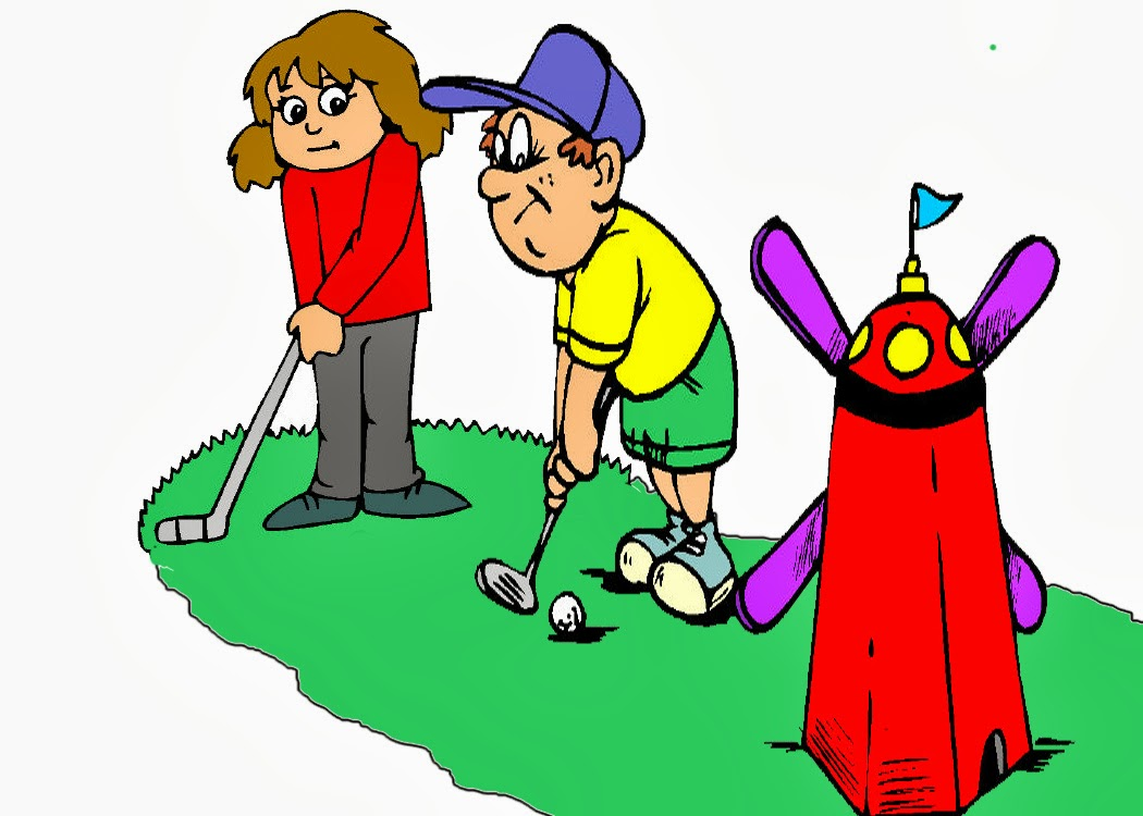 Mini Golf Clipart 6-mini golf clipart 6-8