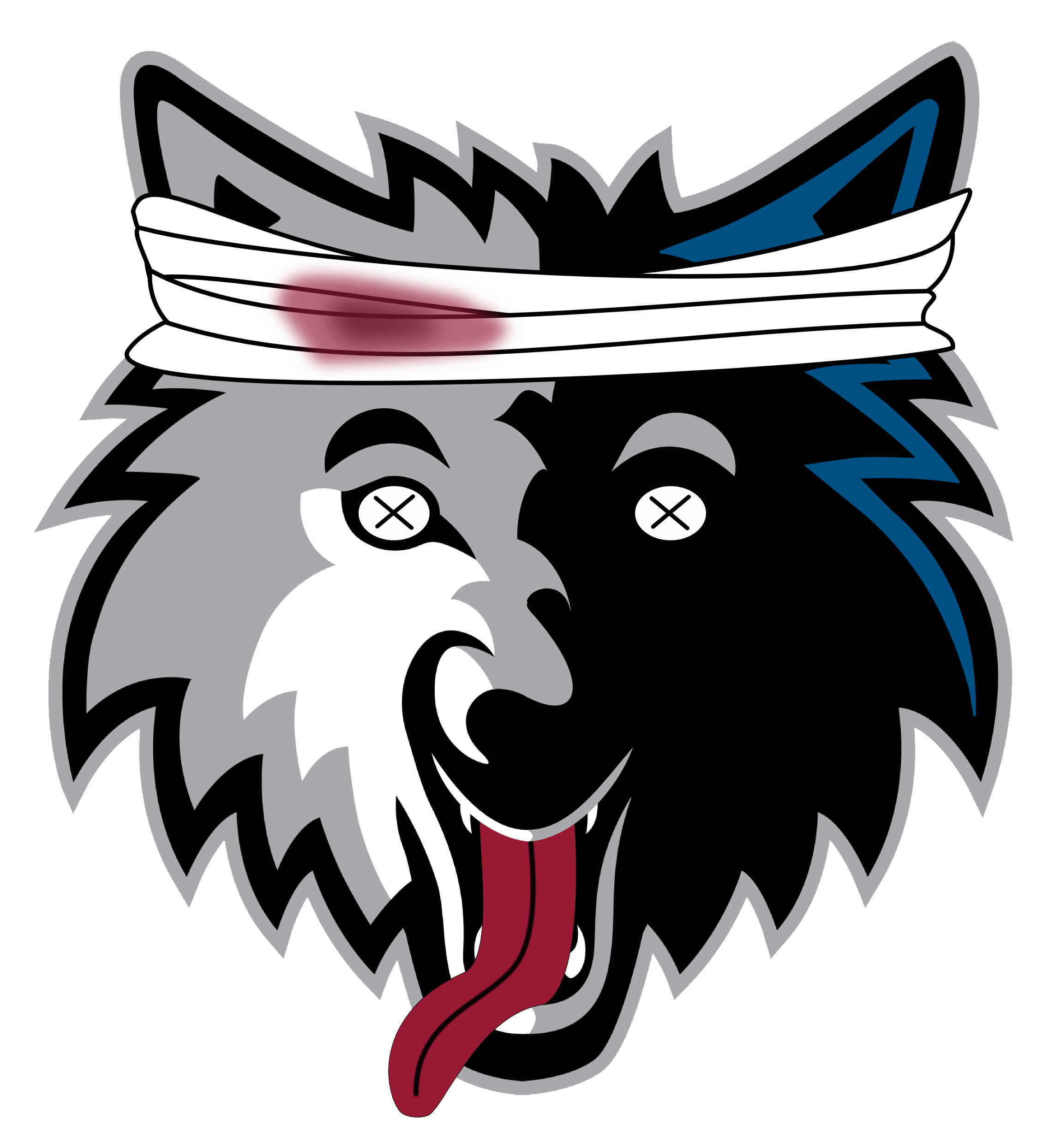 Download PNG image - Timberwolves Logo Png Clipart 470