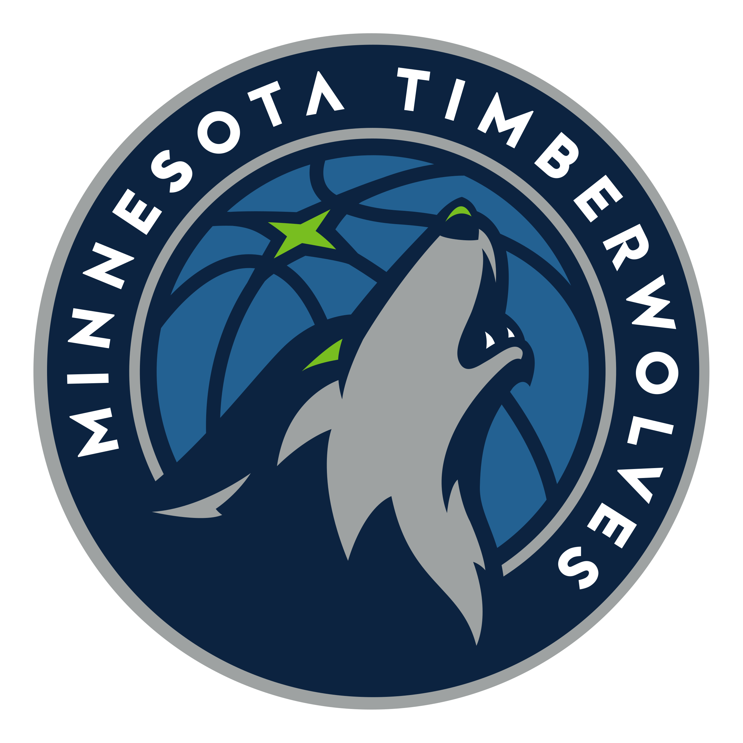 Minnesota Timberwolves logo transparent