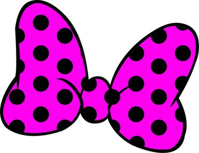 Minnie Mouse Bow Clipart - Blogsbeta