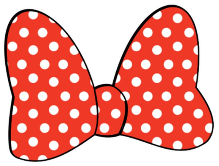 Minnie Mouse Bow Clipart - Bow, Disney, Minnie Mouse, Minnie Mouse .