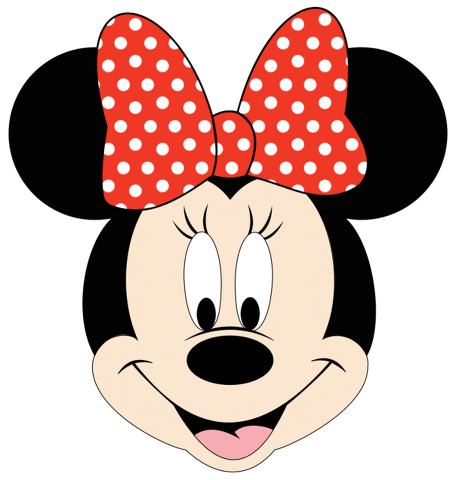 Minnie mouse bow minnie mouse red clipart clipartall