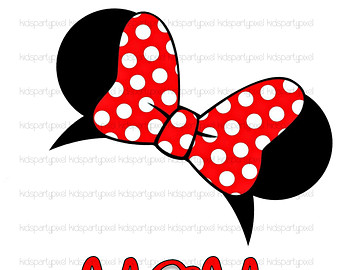 Minnie Mouse Clip Art. Minnie Mouse Ears - Disney .
