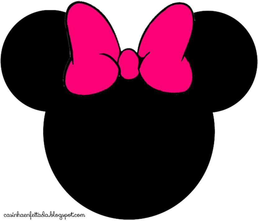 Minnie mouse clipart head - . - Minnie Mouse Silhouette Clip Art