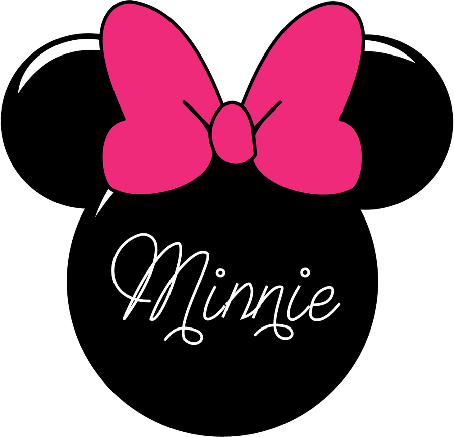 Minnie Mouse Clipart Minnie Mouse Silhouette Vector Pro Clip