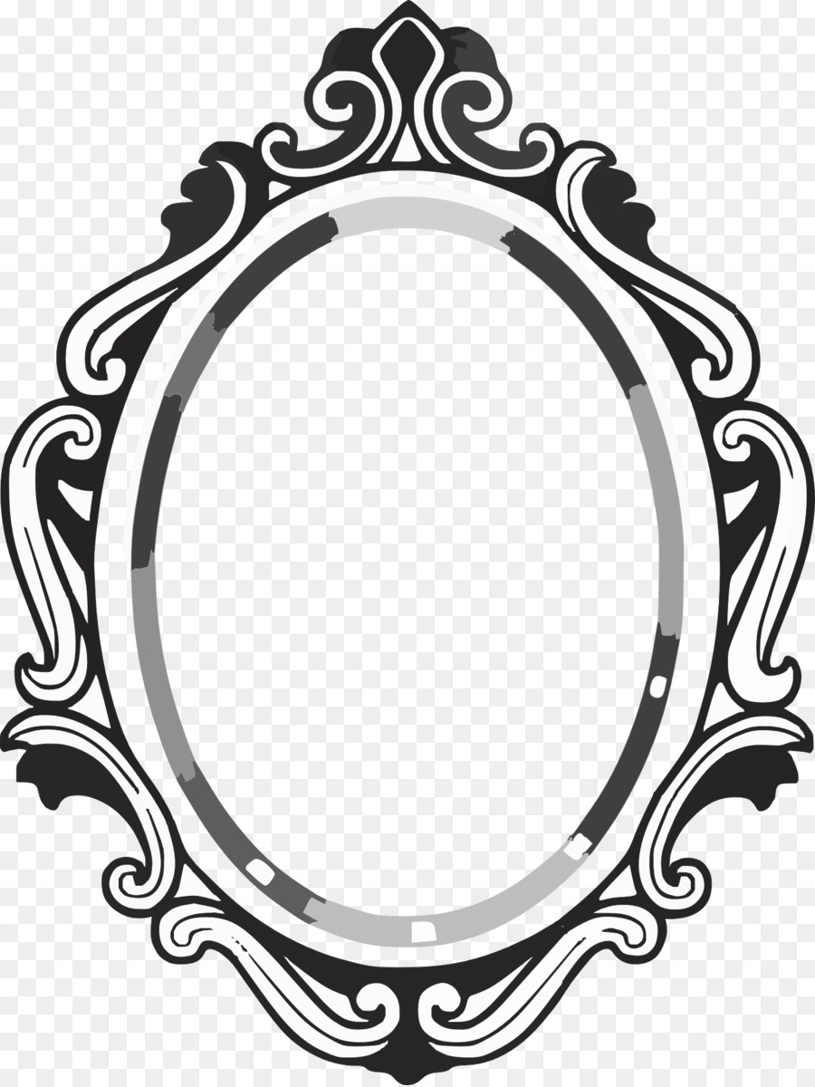 Magic Mirror Free Content Drawing Clip A-Magic Mirror Free content Drawing Clip art - Classical Mirror-7