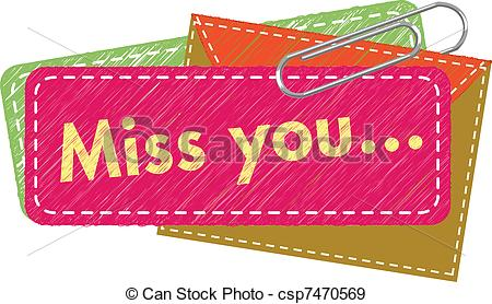 Miss You Card Stock ...-Miss You card Stock ...-6