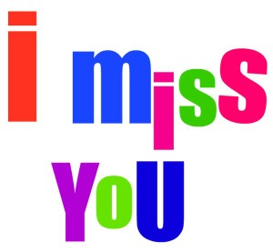 ... Miss You Clip Art; personal- ...