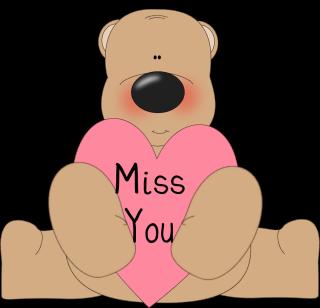 Miss You Clip Art
