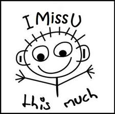 Miss You Clipart