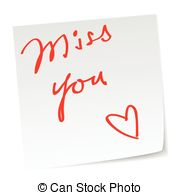... miss you - love note with \\\u0026#39;miss you\\\u0026#39;