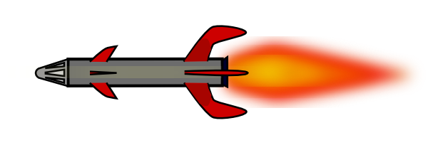 missile clipart