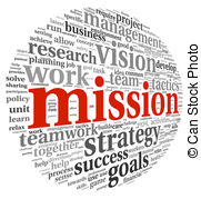 ... Mission concept in word tag cloud - Mission and bussiness.
