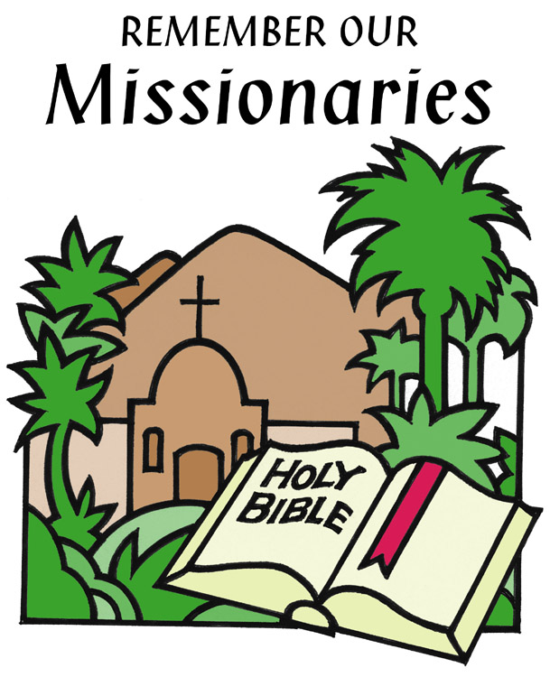 Missionary cliparts