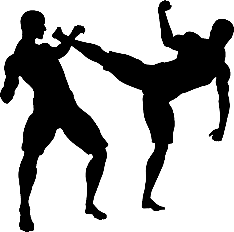 Mixed Martial Artist Clipart