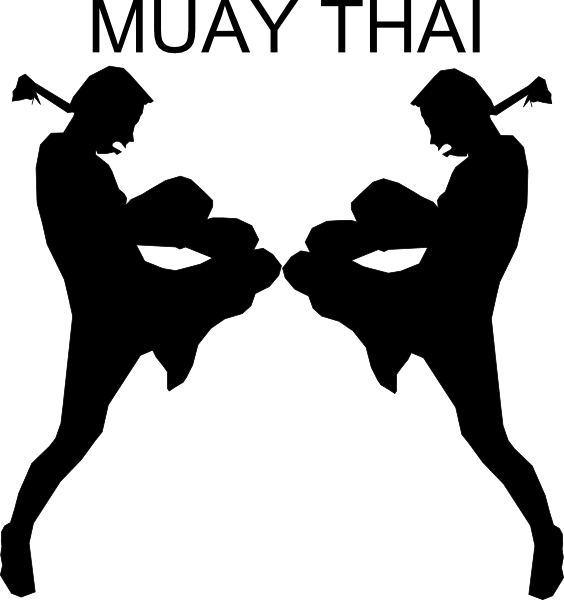 images of kickboxing | mixed martial arts clipart