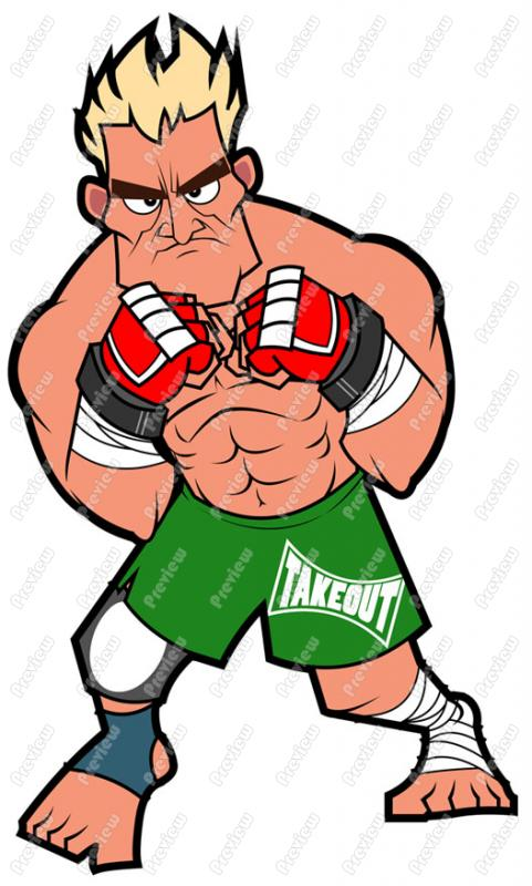 Mixed Martial Arts Clip Art