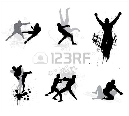 Mixed Martial Arts Royalty Free Cliparts, Vectors, And Stock Illustration.  Image 12945278.