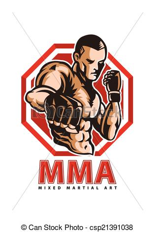 MMA fighter - csp21391038