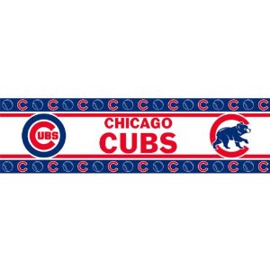 MLB Chicago Cubs Wall Border: .