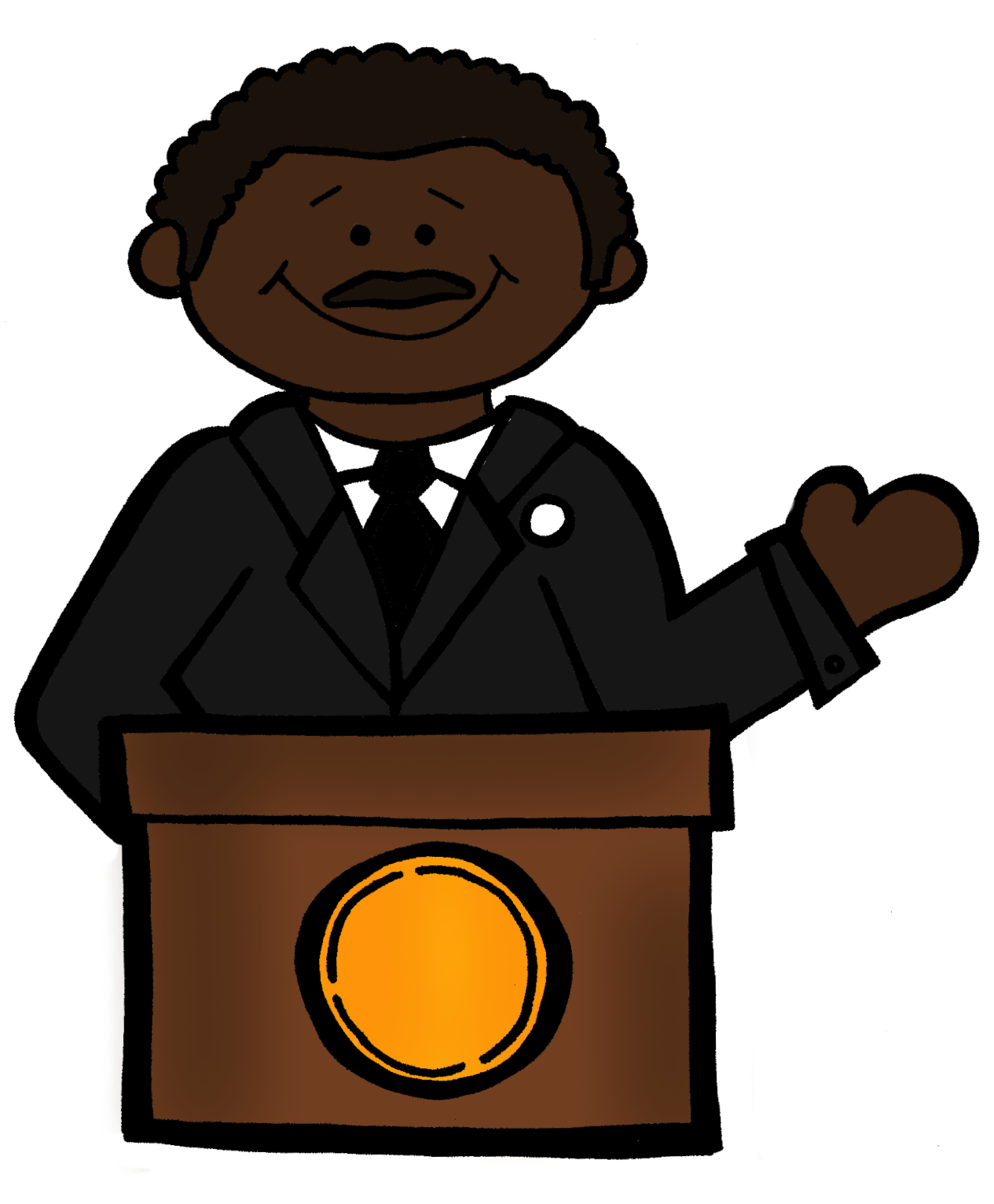 Mlk Clipart - Clipart library