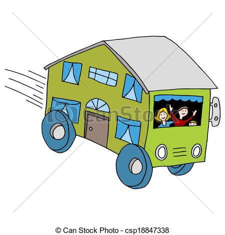Mobile Home - An Image Of A Mobile Home.-Mobile Home - An image of a mobile home.-6