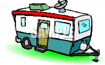 Mobile Home Clipart - . - Mobile Home Clipart