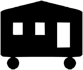 Mobile Home Icon - Mobile Home Clipart
