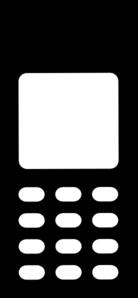Mobile Phone Clip Art-Mobile Phone Clip Art-5