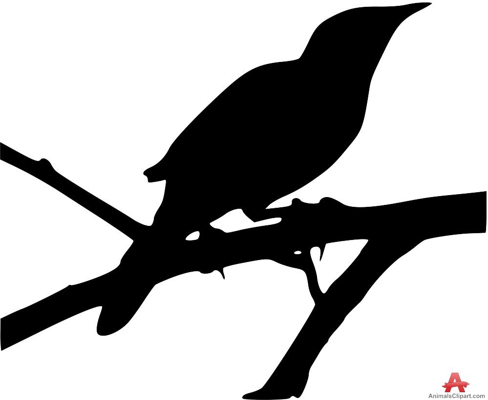 Mockingbird Silhouette Free Clipart Desi-Mockingbird silhouette free clipart design download-13