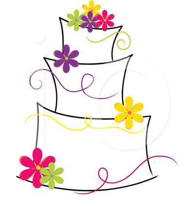 Modern Wedding Cake Clipart-modern wedding cake clipart-5