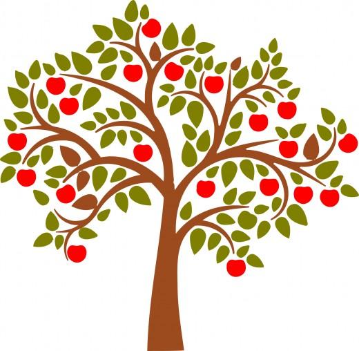 Modern Apple Tree Clipart-Modern Apple Tree Clipart-6