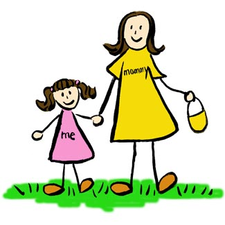 Mommy And Daughter Clipart #1-Mommy And Daughter Clipart #1-17