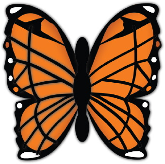 Monarch Butterfly Clipart-Monarch butterfly clipart-11