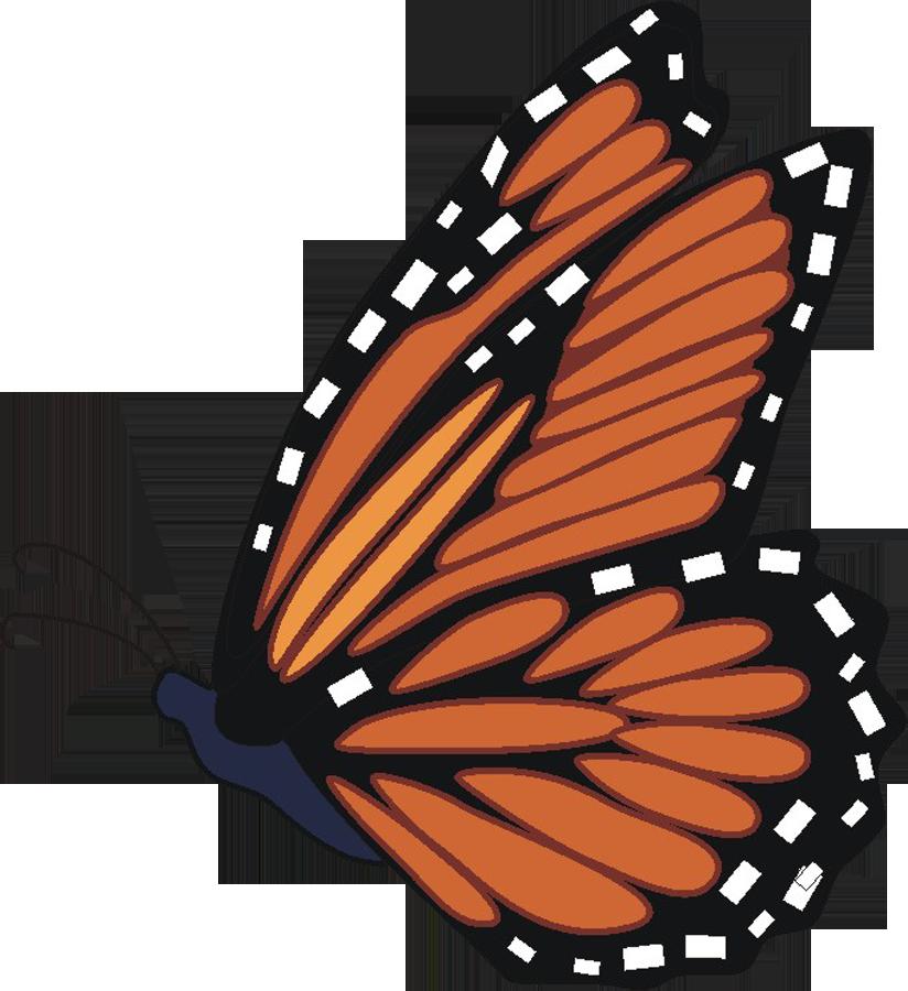 Monarch Butterfly Clipart-Monarch Butterfly Clipart-13