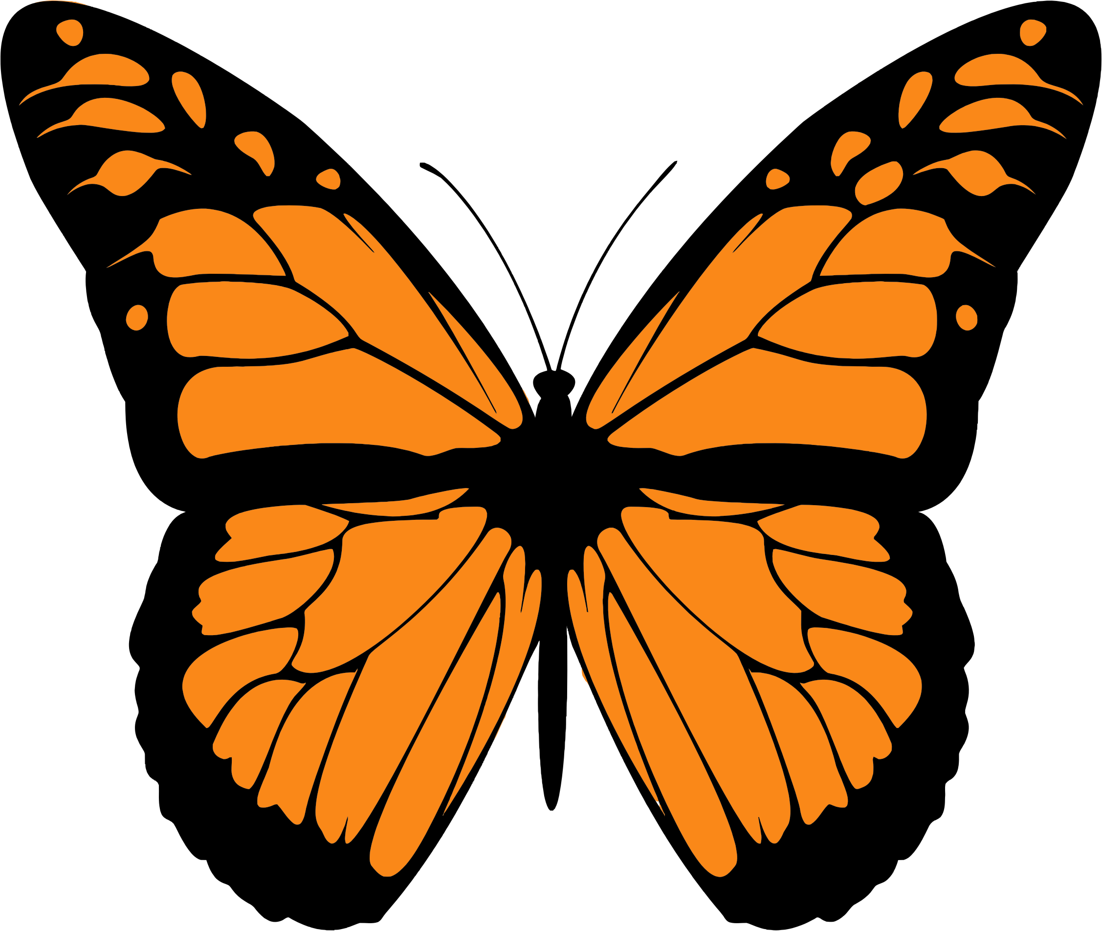Monarch Butterfly Clipart-Monarch Butterfly Clipart-11