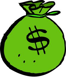 Money Bag Clipart-money bag clipart-8