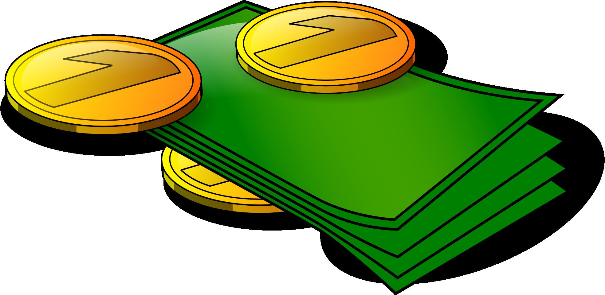 Stacks Of Money Clip Art Clip