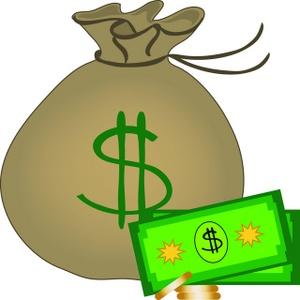 Money bag clip art of money t - Money Bag Clip Art