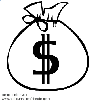 Money Bag Clipart Currency Freelance Flash