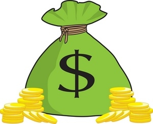 Money Bag PNG Clipart. Follow us.