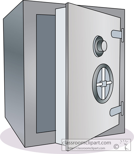 Money Bank Safe Deposit Box 2 Classroom -Money Bank Safe Deposit Box 2 Classroom Clipart-6