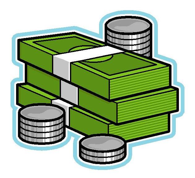 money clipart - Clipart Of Money