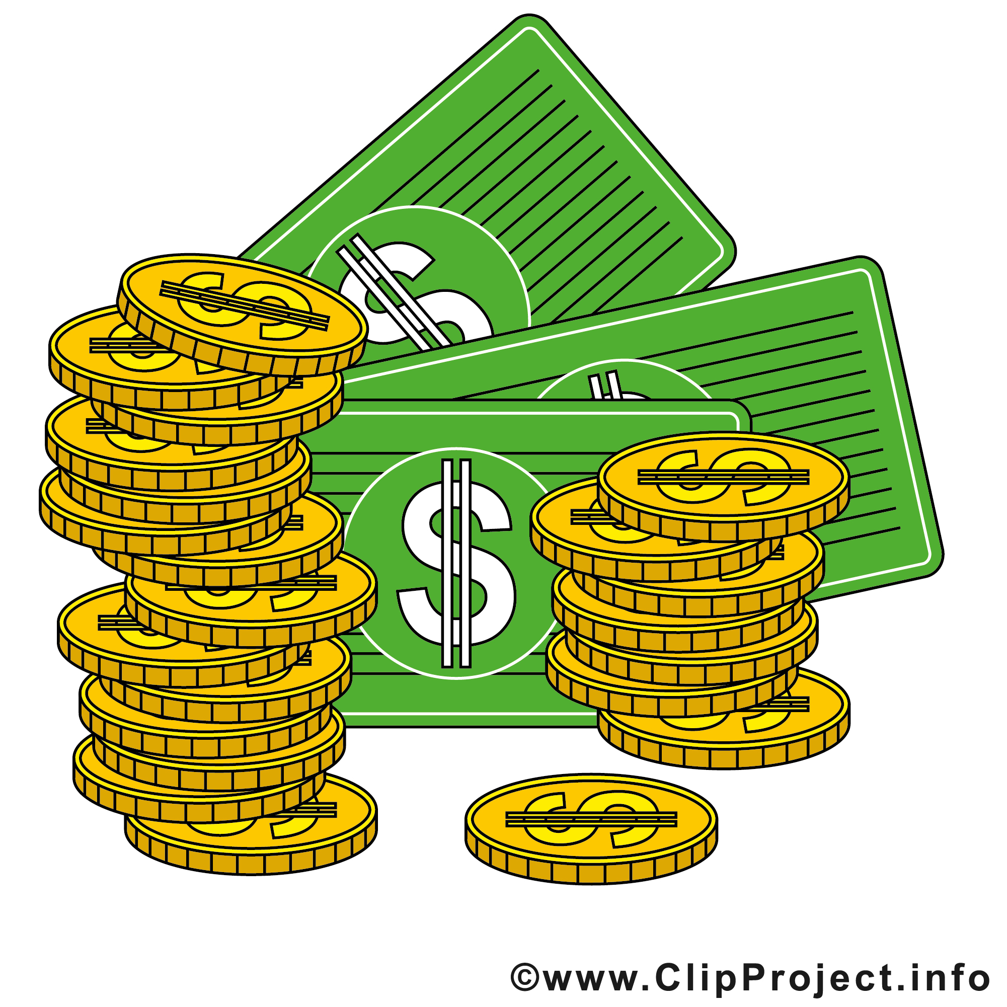 Money Gallery Clipart