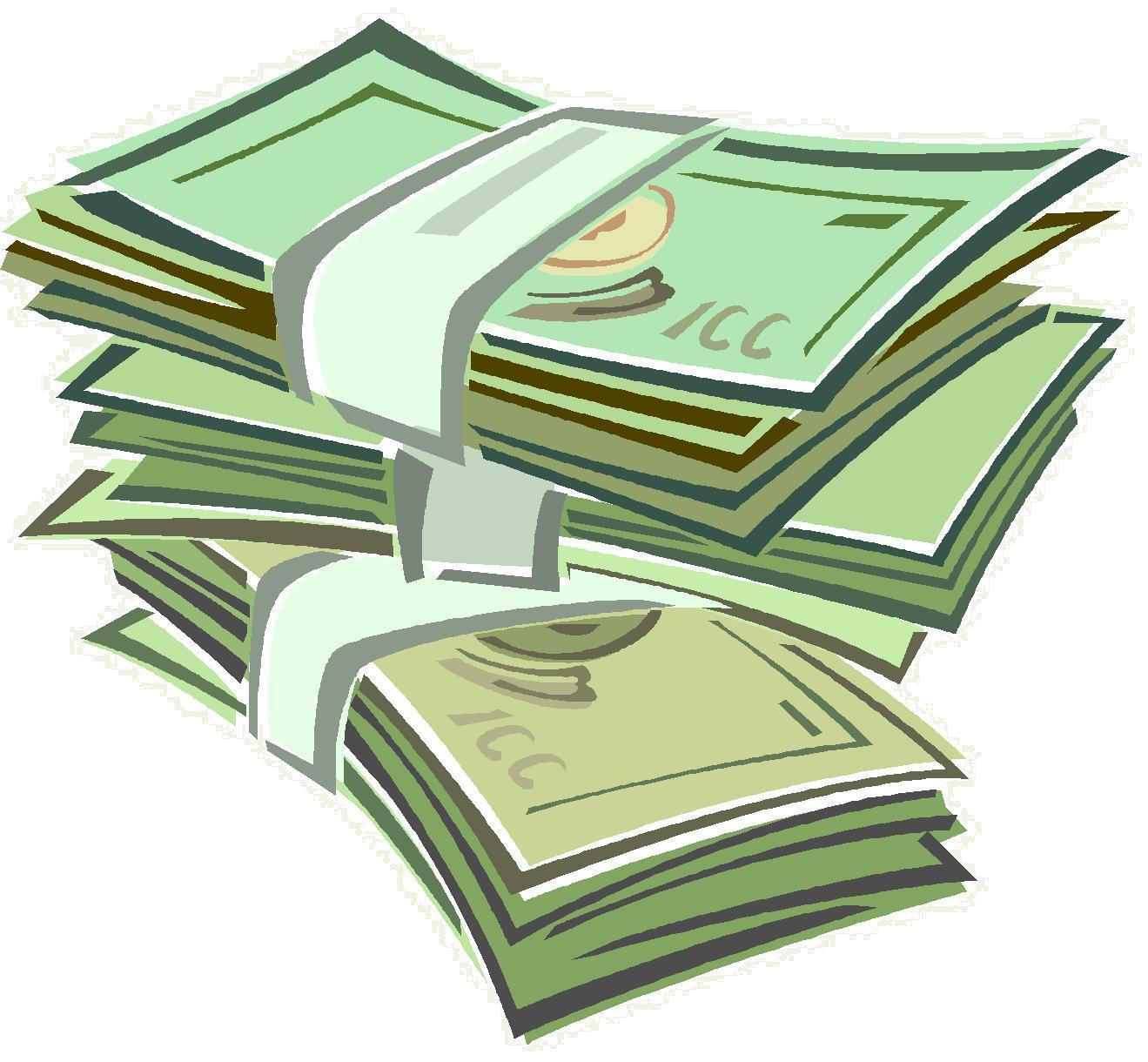 Money Stack Clip Art-Money Stack Clip Art-13